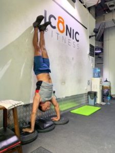 Handstand at CrossFit Duo Dubai Marina | functional fitness