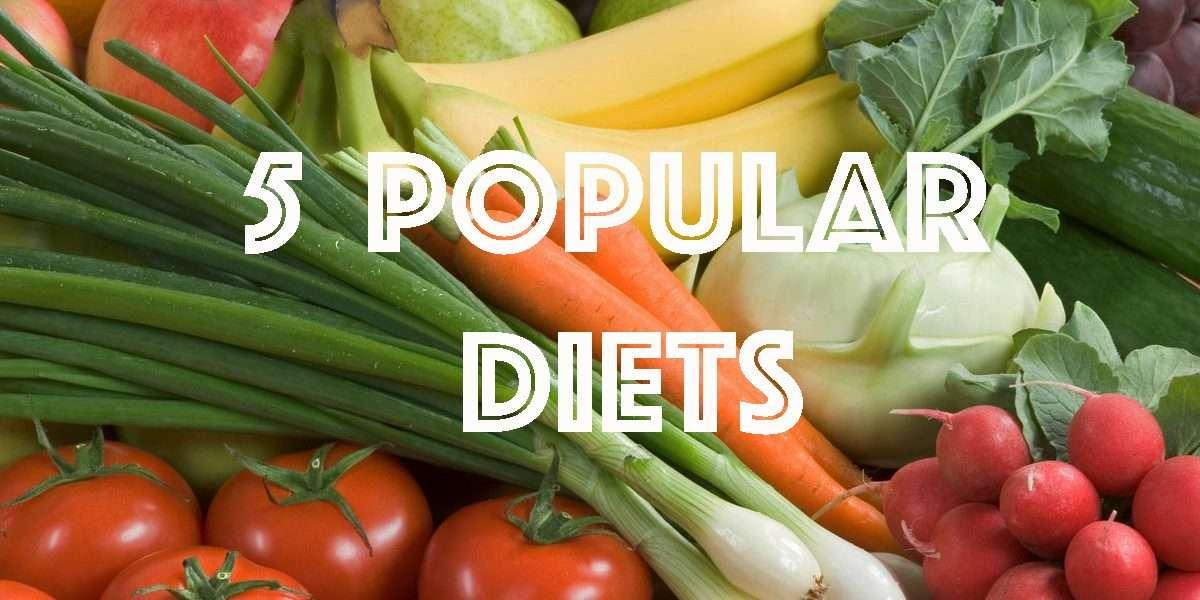 Weight Loss- 5 popular diets